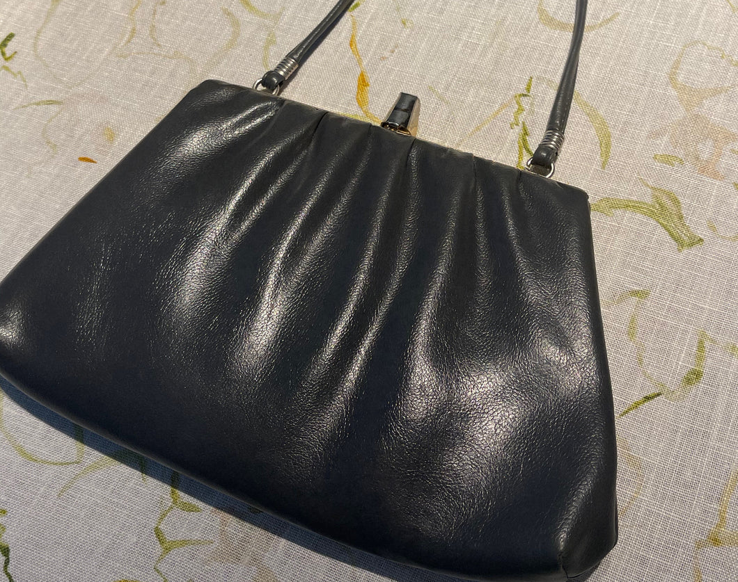 Midnight Sky Charcoal Vintage Purse