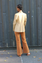 Load image into Gallery viewer, Burnt Orange '70s Corduroy Bell Pants