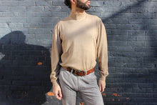 Load image into Gallery viewer, Camel Merino Wool Mid-Turtleneck