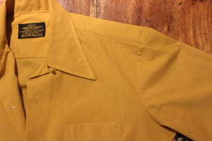 Vintage Mustard Mechanic Shirt