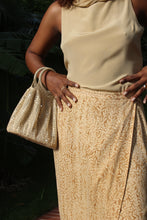 Load image into Gallery viewer, Gold Sequin Mesh Bag
