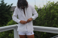 Load image into Gallery viewer, Ralph Lauren Linen Long Sleeve