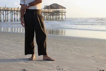 Load image into Gallery viewer, English Green Wide Leg Pleated Pant