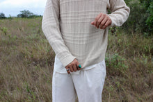 Load image into Gallery viewer, Cream Braided Claiborne Sweater
