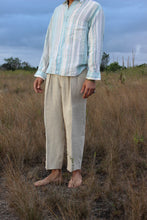Load image into Gallery viewer, 60 Shades of Blue Italian Linen Shirt
