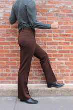 Load image into Gallery viewer, 70s Chocolate Lee Boot Cut Pant