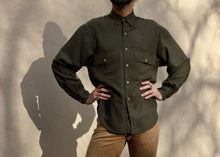 Load image into Gallery viewer, Army Hunter Double Pocket Shirt