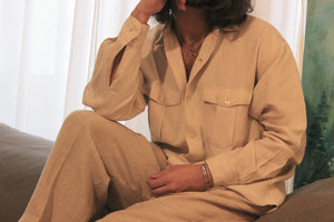Vintage Saks 5th Avenue Linen Shirt