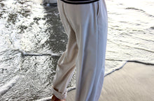 Load image into Gallery viewer, Off White Classic Claiborne Trouser