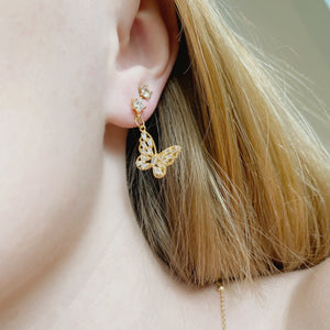 Mariposa Stud Earrings