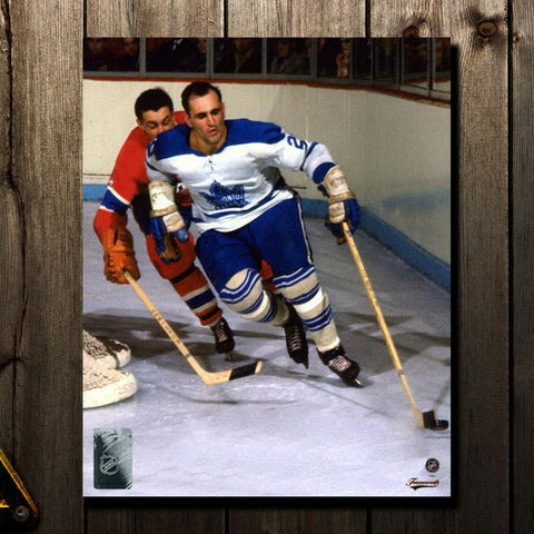 Bobby Baun Pre-Order Toronto Maple Leafs Autographed 8x10 (1)