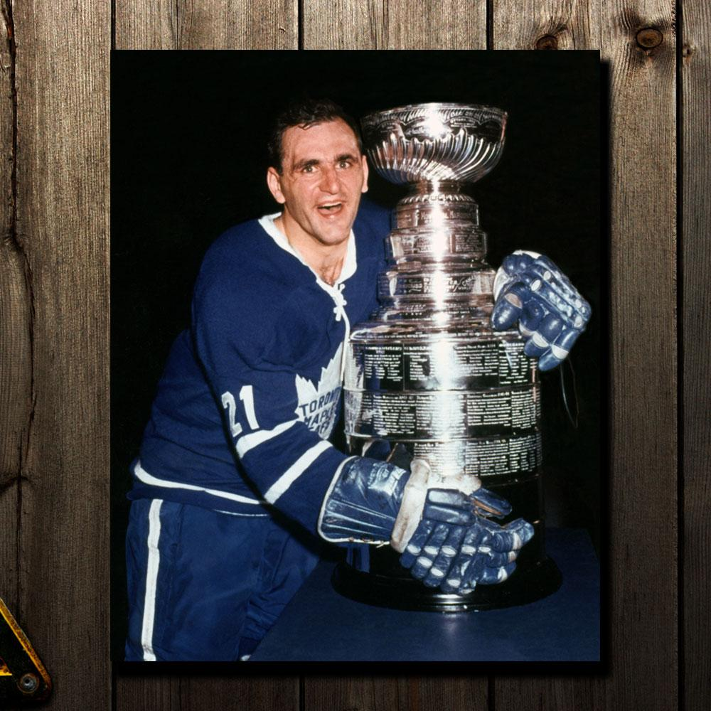 Bobby Baun Pre-Order Toronto Maple Leafs Autographed 8x10 (2)