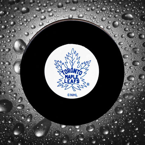 Bobby Baun Pre-Order Toronto Maple Leafs Autographed Puck
