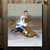Les Binkley Pre-Order Pittsburgh Penguins Autographed 8x10 (2)