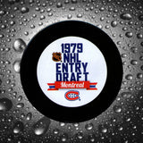 Guy Carbonneau Pre-Order 1979 NHL Draft Autographed Puck