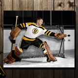 Ed Chadwick Pre-Order Boston Bruins Autographed 8x10 (1)