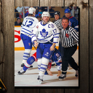 Wendel Clark Pre-Order Toronto Maple Leafs Autographed 8x10 (2)