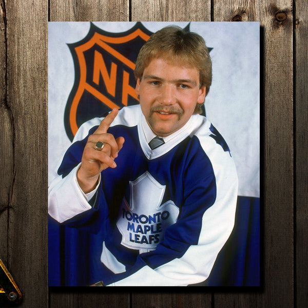 Wendel Clark Pre-Order Toronto Maple Leafs Autographed 8x10 (4)