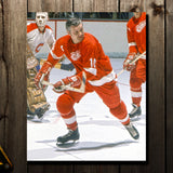 Alex Delvecchio Pre-Order Detroit Red Wings Autographed 8x10 (2)