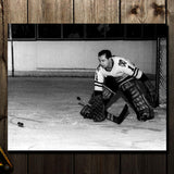 Glenn Hall Pre-Order Chicago Blackhawks Autographed 8x10 (5)