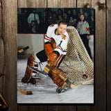 Glenn Hall Pre-Order Chicago Blackhawks Autographed 8x10 (8)