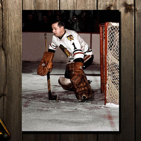 Glenn Hall Pre-Order Chicago Blackhawks Autographed 8x10 (9)