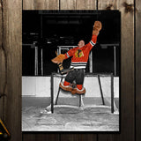 Glenn Hall Pre-Order Chicago Blackhawks Autographed 16x20 (2)