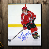 Geraldine Heaney Team Canada 1998 OLYMPICS Autographed 8x10