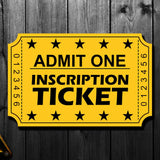 Dick Duff Pre-Order Inscription Ticket - SportAuthentix