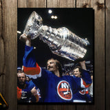 Bob Nystrom Pre-Order New York Islanders Autographed 8x10 (2)