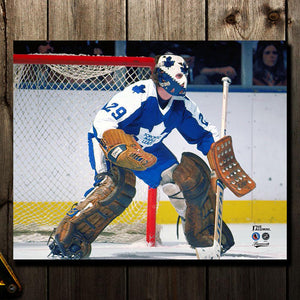 Mike Palmateer Pre-Order Toronto Maple Leafs Autographed 16x20 (1)