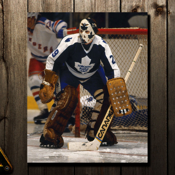 Mike Palmateer Pre-Order Toronto Maple Leafs Autographed 16x20 (2)