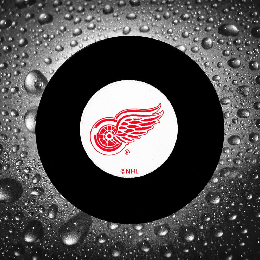 Brad Park Pre-Order Detroit Red Wings Autographed Puck