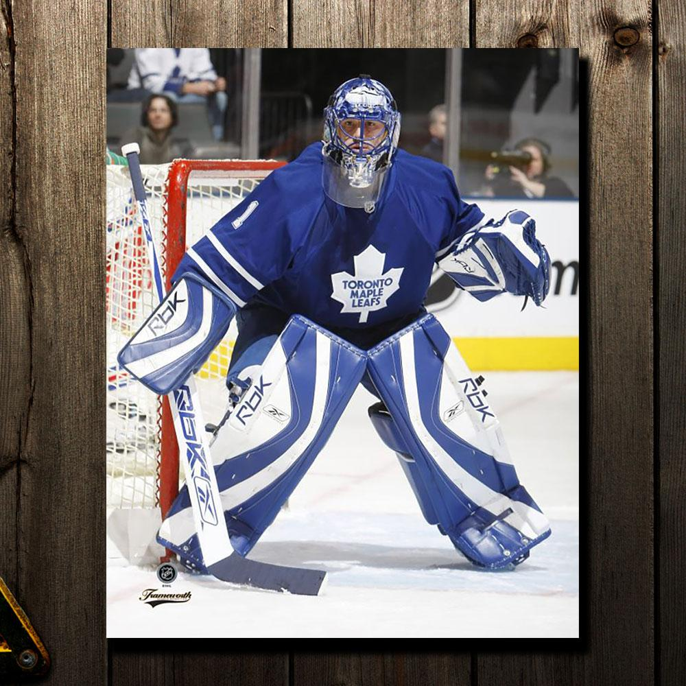 Andrew Raycroft Pre-Order Toronto Maple Leafs Autographed 8x10 (1)