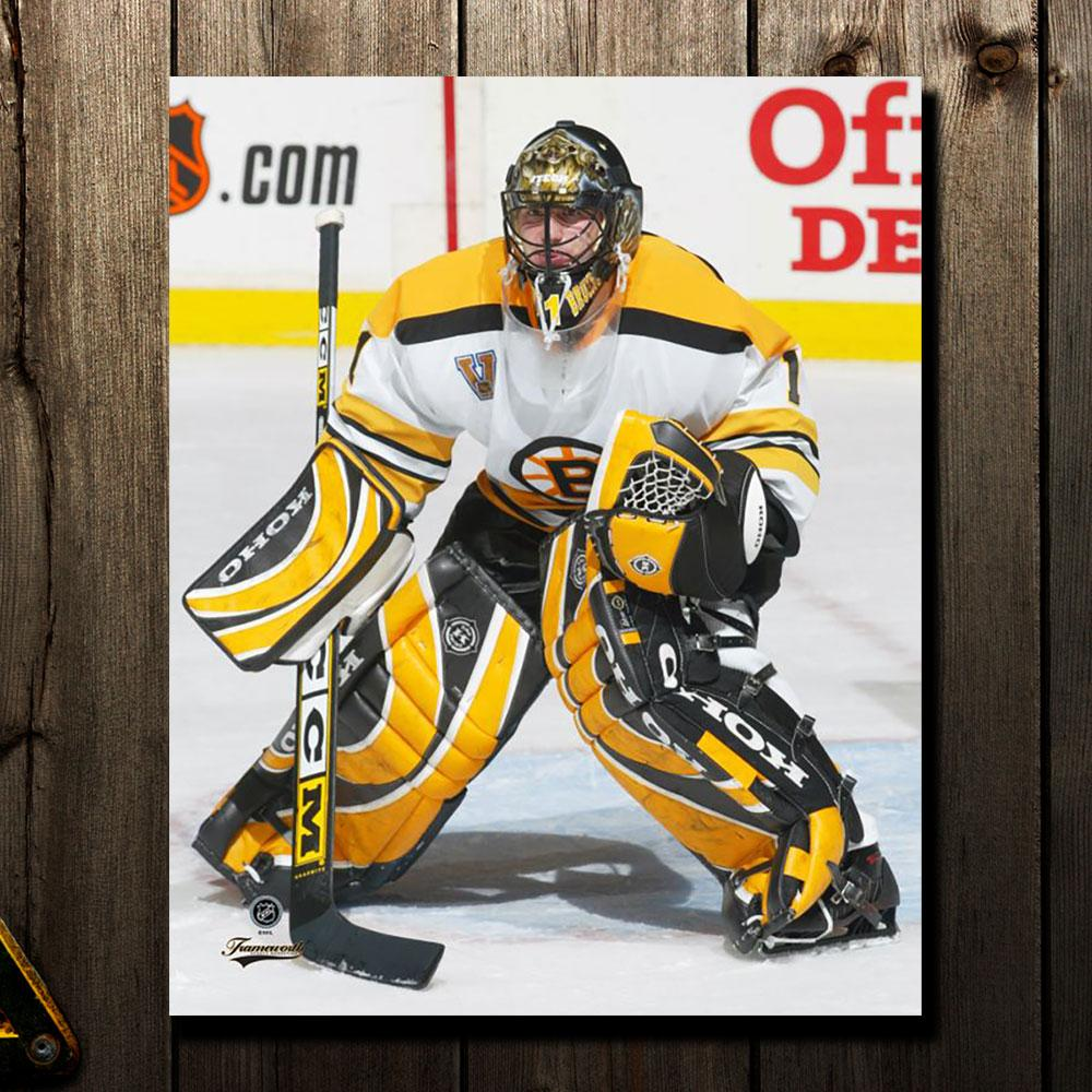 Andrew Raycroft Pre-Order Boston Bruins Autographed 16X20 (1)