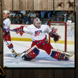 Mike Richter Pre-Order Team USA Autographed 8x10 (1)