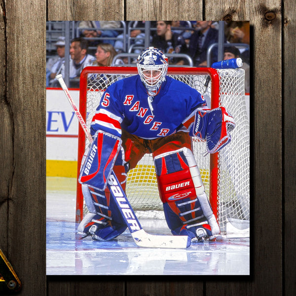 Mike Richter Pre-Order New York Rangers Autographed 16x20 (1)