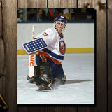Billy Smith Pre-Order New York Islanders Autographed 8x10 (1)
