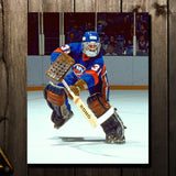 Billy Smith Pre-Order New York Islanders Autographed 8x10 (2)