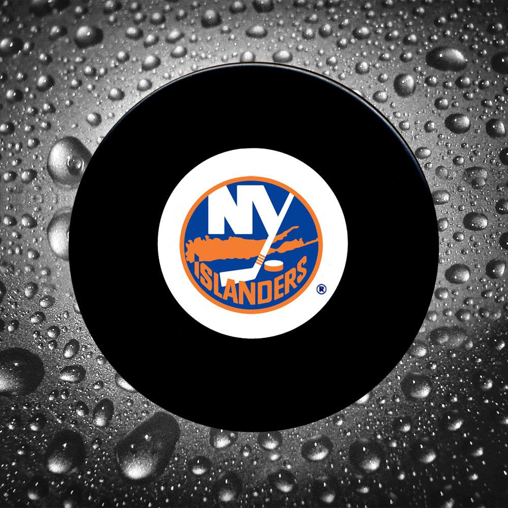 Billy Smith Pre-Order New York Islanders Autographed Puck