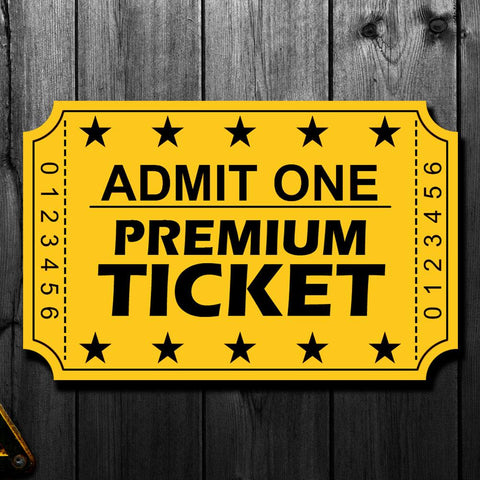 Billy Smith Pre-Order Premium Autograph Ticket