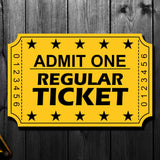 Billy Smith Pre-Order Regular Autograph Ticket