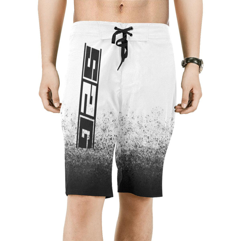 S2G Men's Fade Boardshorts Men's All Over Print Beach Shorts (Model L16)
