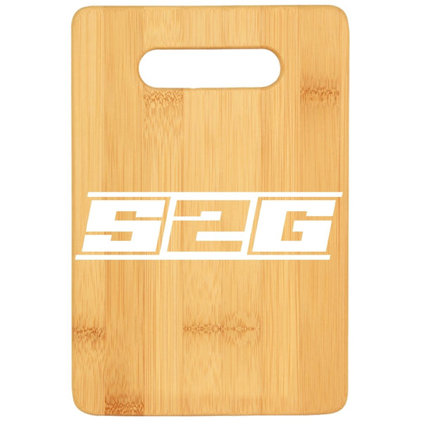 S2G Cutting Board - Bamboo {Laser Etched No Colored Art}