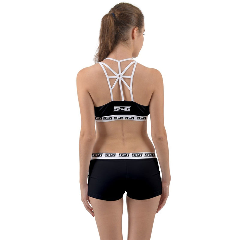 S2G Black Web Gym Set