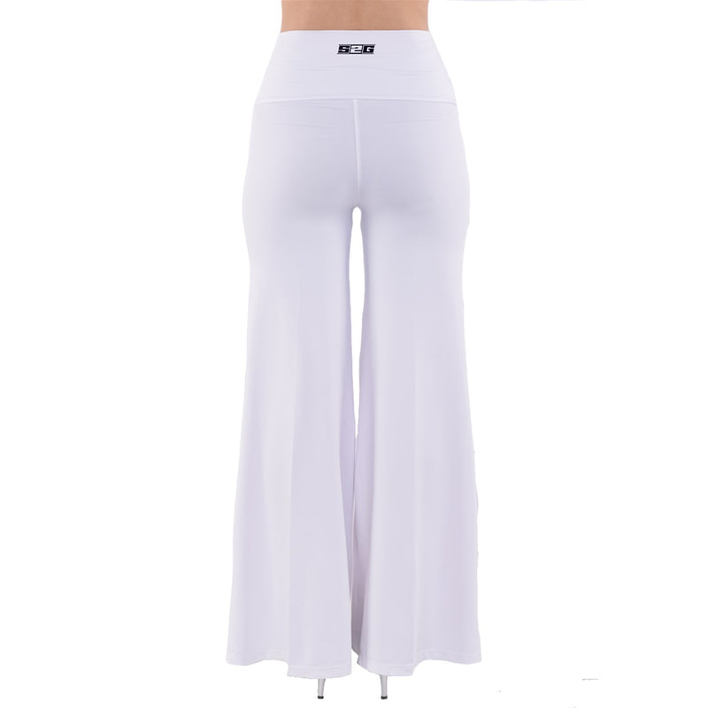 S2G So Vintage Palazzo Pants White