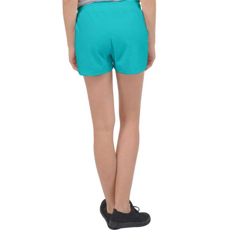 S2G Velour Lounge Shorts Teal