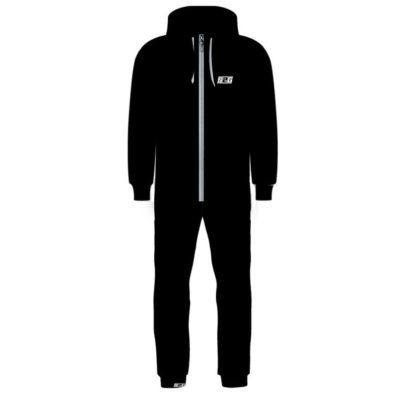 S2G BLACK Hooded Onsie (Men)