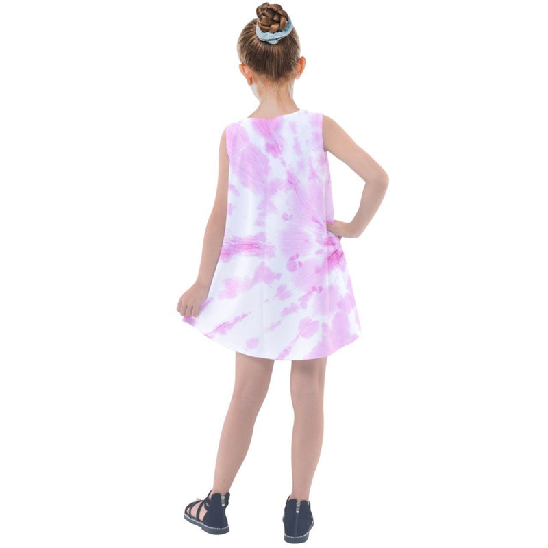 S2G Mommy & Me Pink Tie Dye Kids' Summer Dress