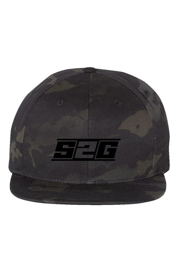 S2G EMBROIDERD BLACK CAMO HAT